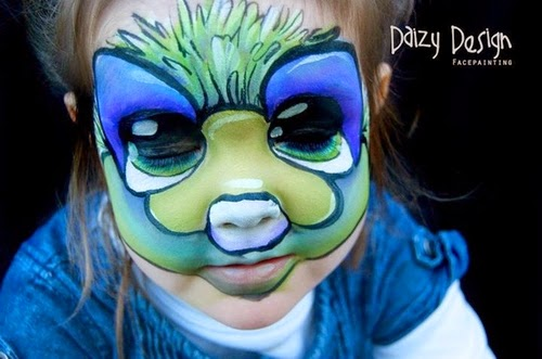 17-Christy Lewis Daizy-Face Painting - Alternate Personalities-www-designstack-co