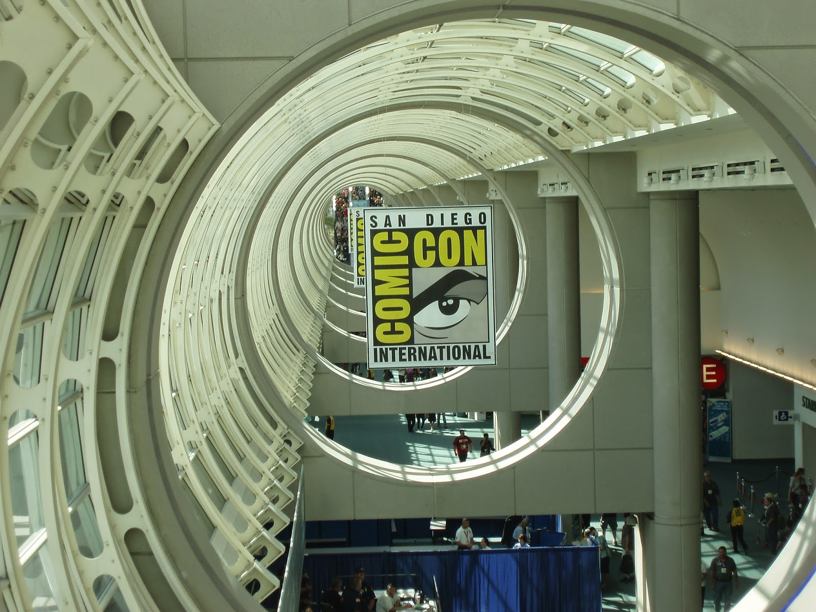 Comic-Con convention center hall
