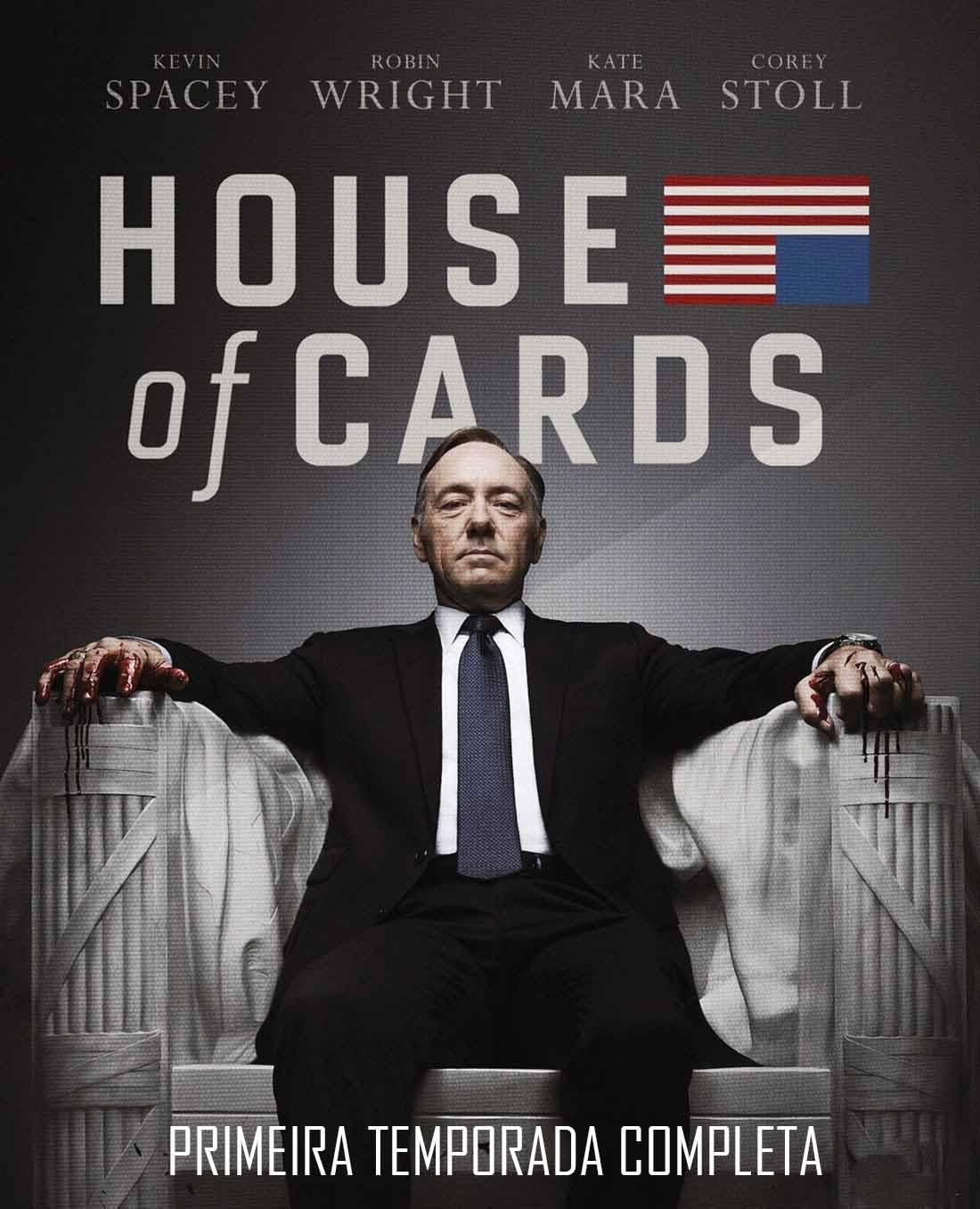 House of Cards 1ª Temporada Torrent - Blu-ray Rip 720p Dublado (2013)