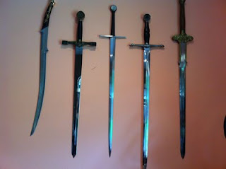 Donna Grant swords
