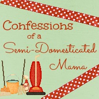 Confessions of a Semi-Domesticated Mama