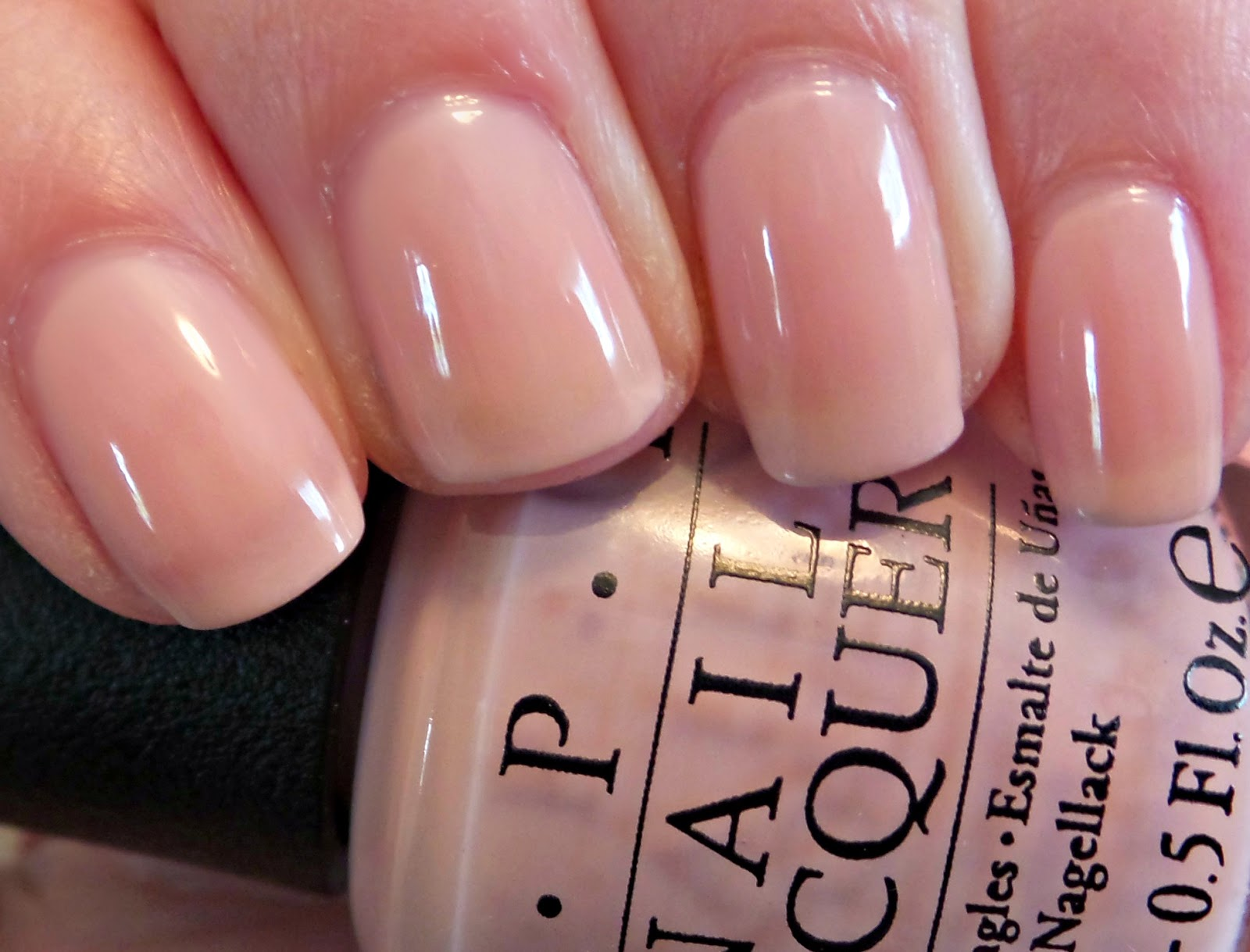 Obsessive cosmetic hoarders unite new opi soft shades collection this is 4 yes 4 layers of polish sciox Gallery
