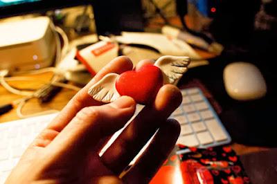 Une lettre d'amour Facebook