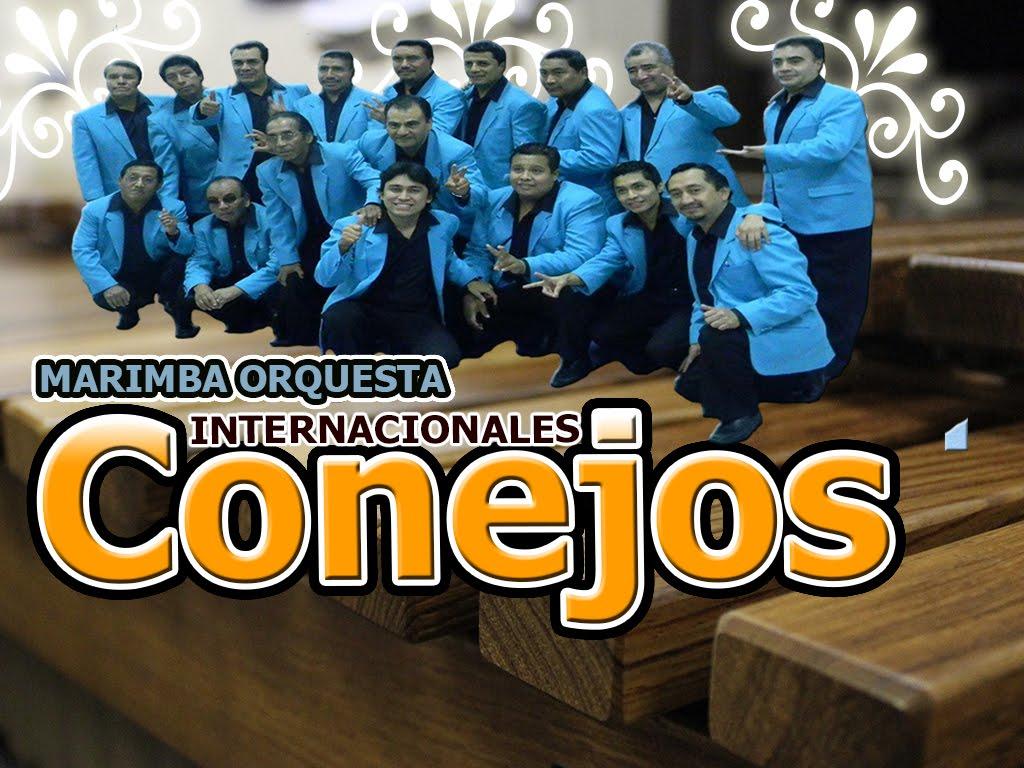"""MARIMBA ORQUESTA """"LOS INTERNACIONALES CONEJOS"""""""