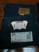 Vintage Levis 505 Circa 1966