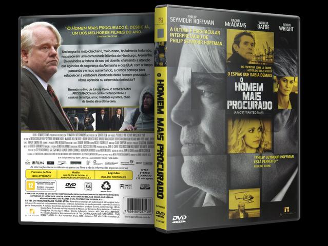 Capa DVD O Homem Mais Procurado