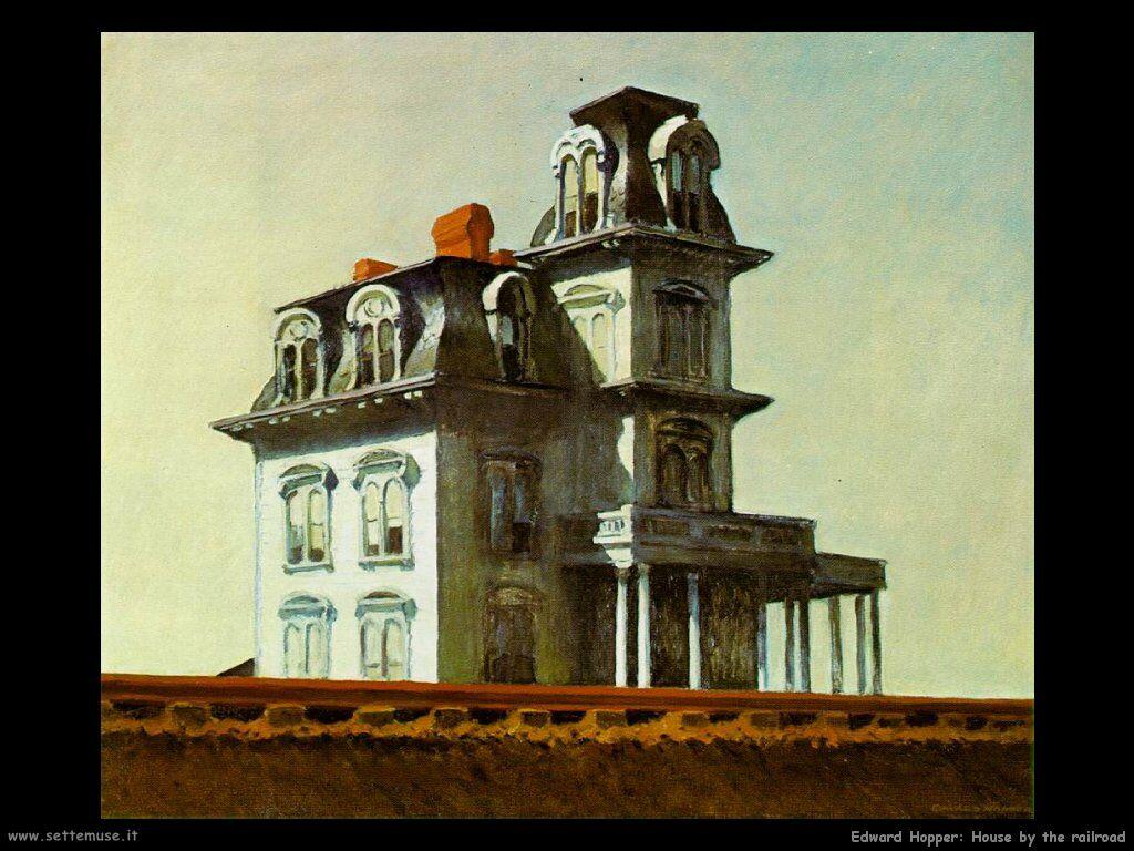 Art and style lab pittura edward hopper maestro del for Piani di casa in stile cottage cape cod