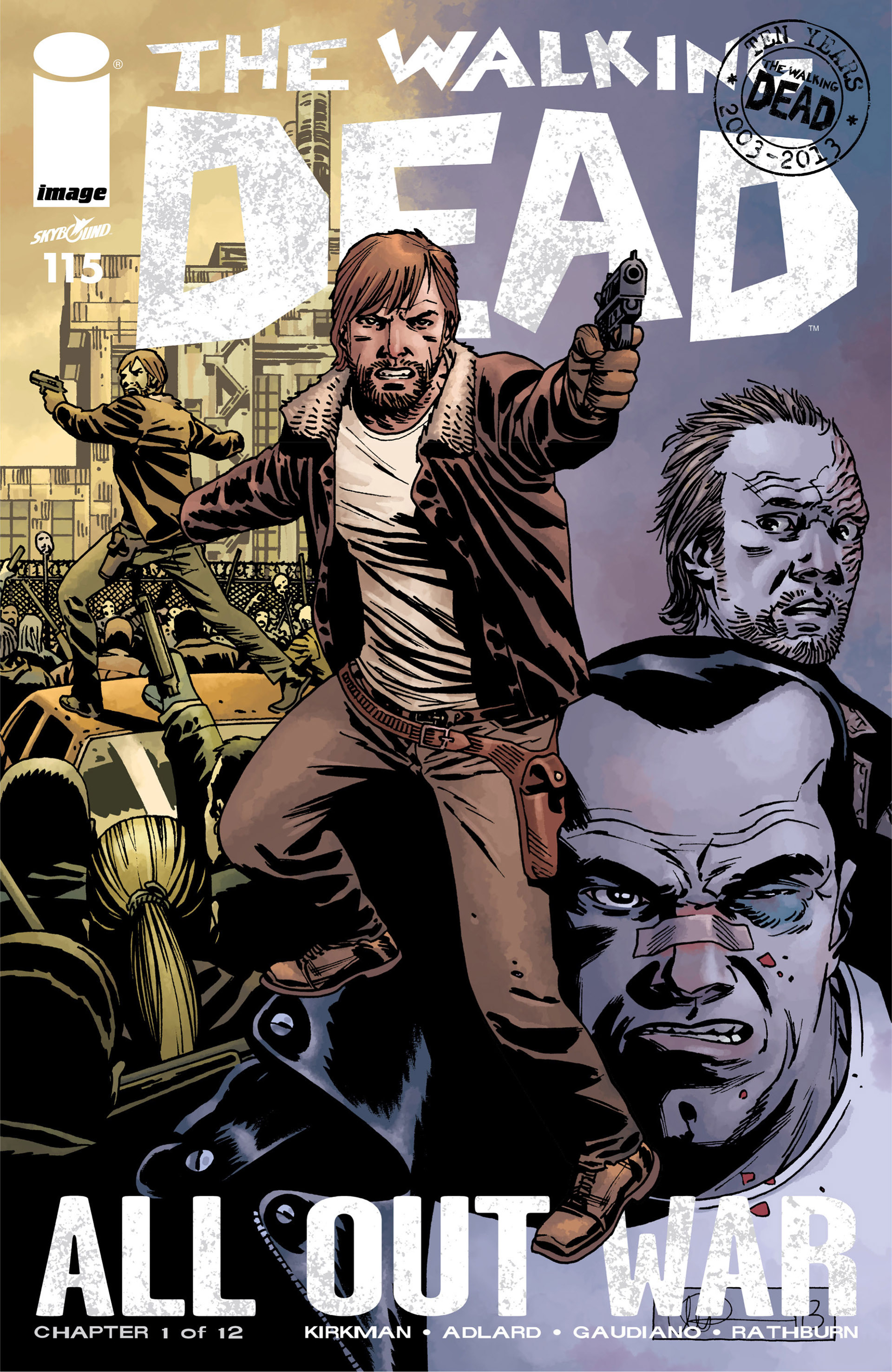 The Walking Dead 115 Page 1