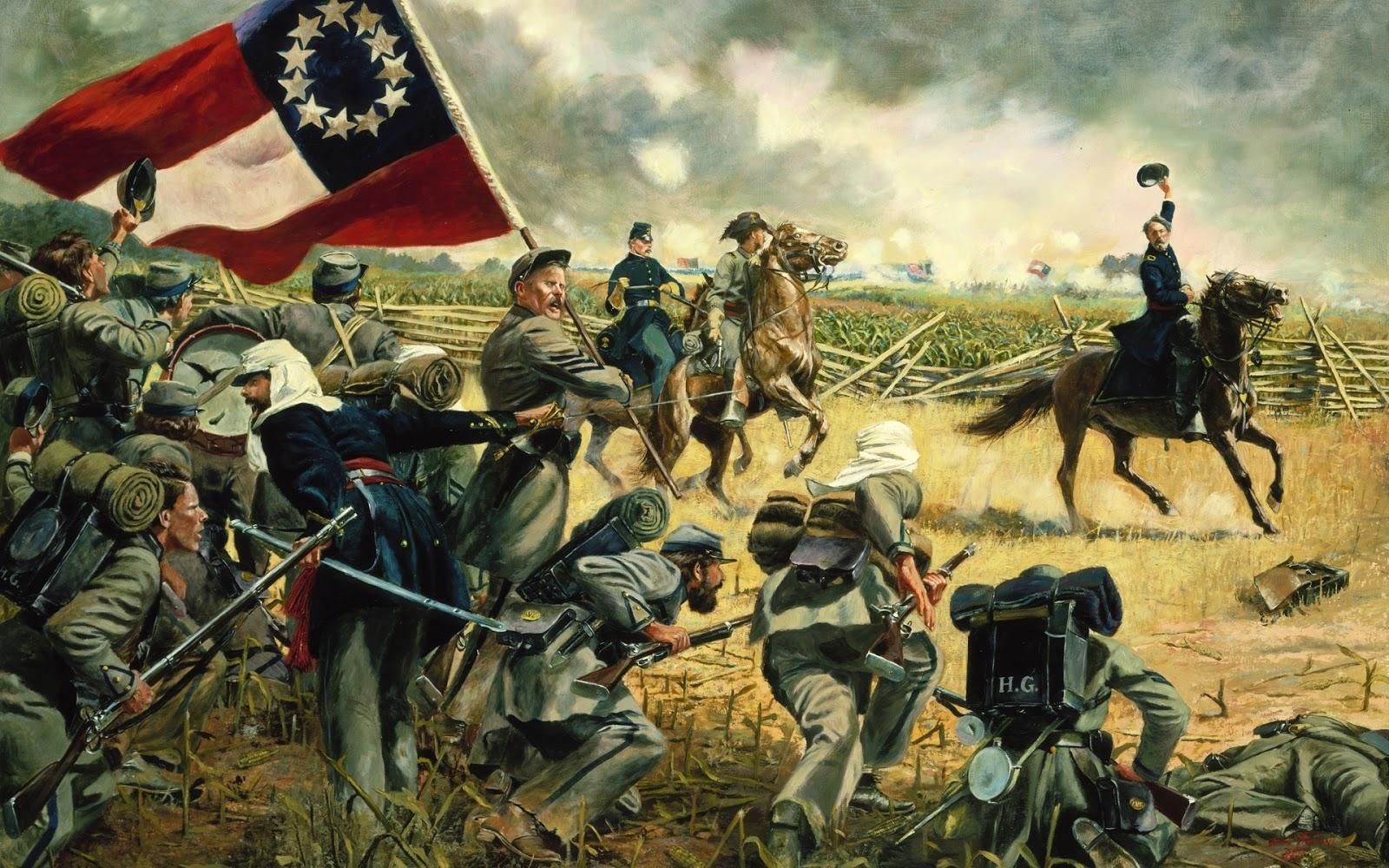 American Civil War Paintings