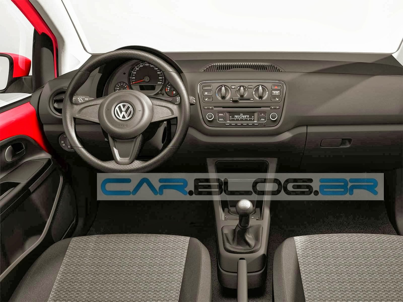Volkswagen up! - interior (projeção)