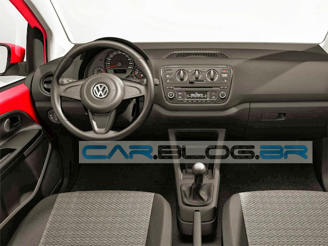 VW Up! 2014 - Brasil - painel