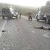 Viatura capota com cinco presos e três policiais em Ipirá(BA); um morreu