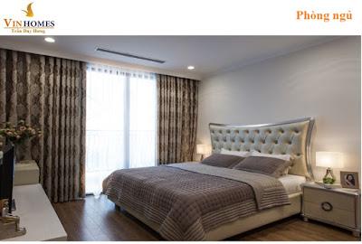 Phòng ngủ được thiết kế hiện đại