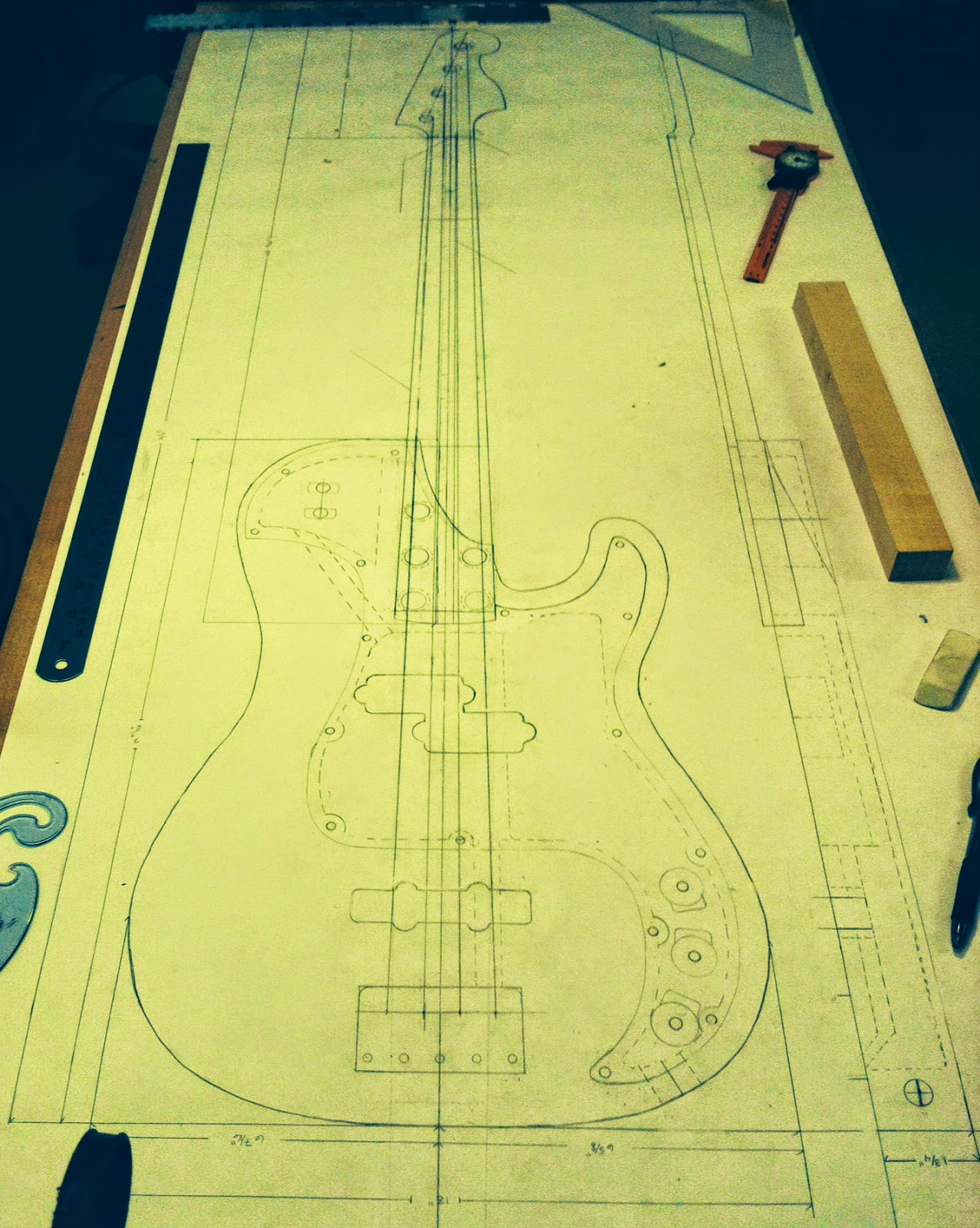 Guitar repair building program guitar school red wing mn other than the neck body joint and the single cut away the body and neck shape will remain similar to a traditional fender p bass maxwellsz