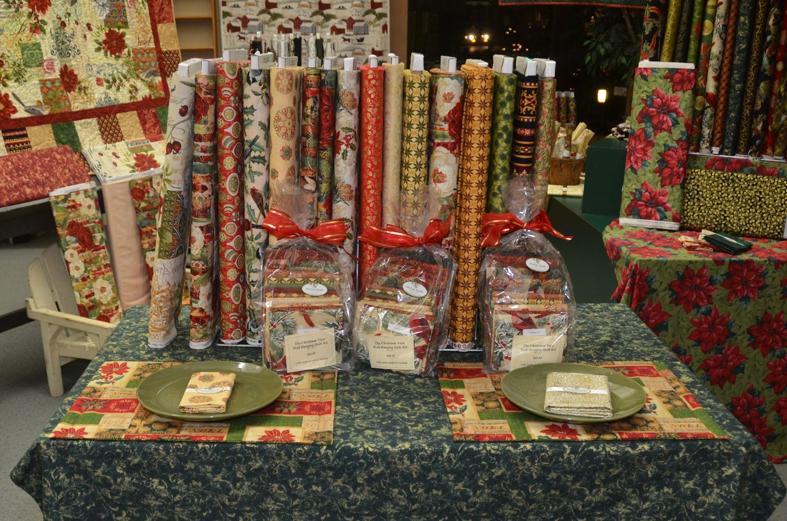 Pine needle quilt shop christmas gift ideas at the pine - Table gifts for christmas ...