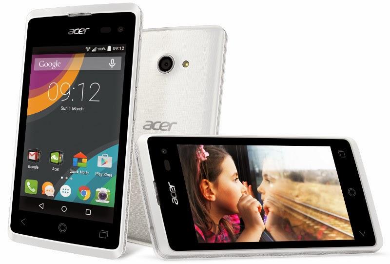 Acer Liquid Z220, Spesifikasi dan Harga HP Android Lollipop Murah