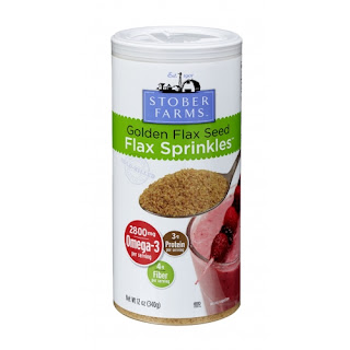 Cold Pressed Ground Flax Seed Sprinkles