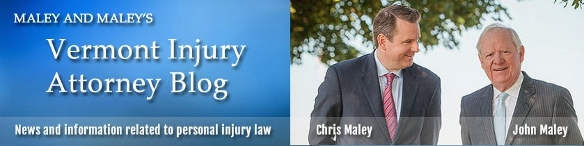 Vermont Personal Injury Attorney Blog