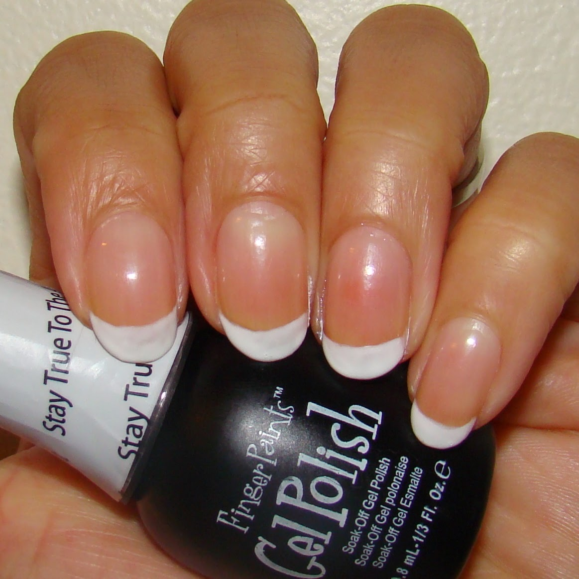 Pretty Nails and Tea: Shimmer French Manicure | Soak Off Gel Polish ...