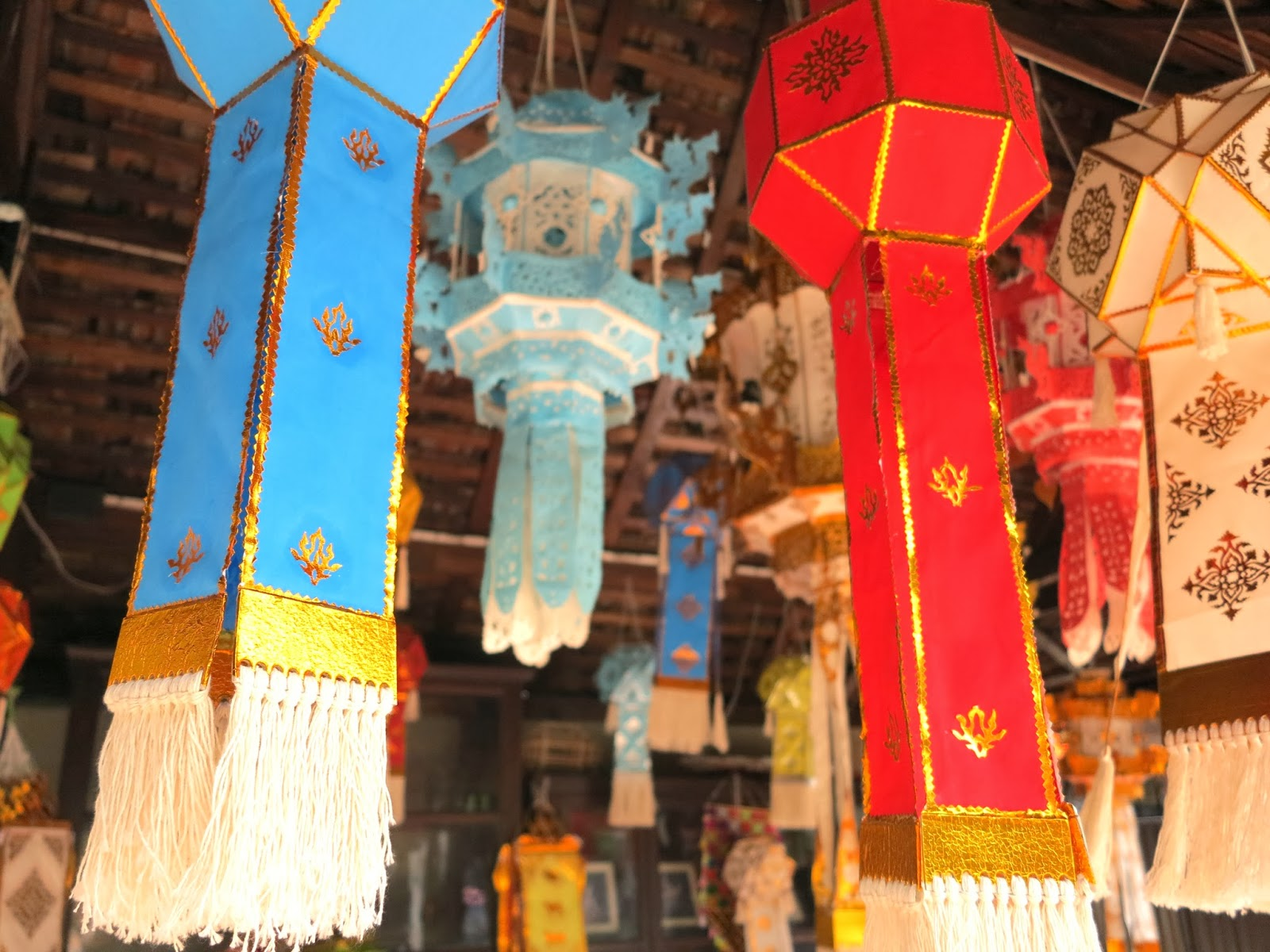 ByHaafner, colourful lanterns Thailand