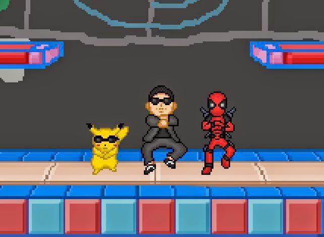 RetroZumbaos Super Smash Flash 2