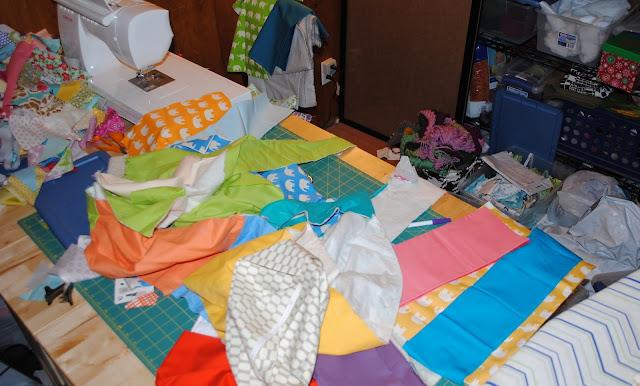 fabric explosion
