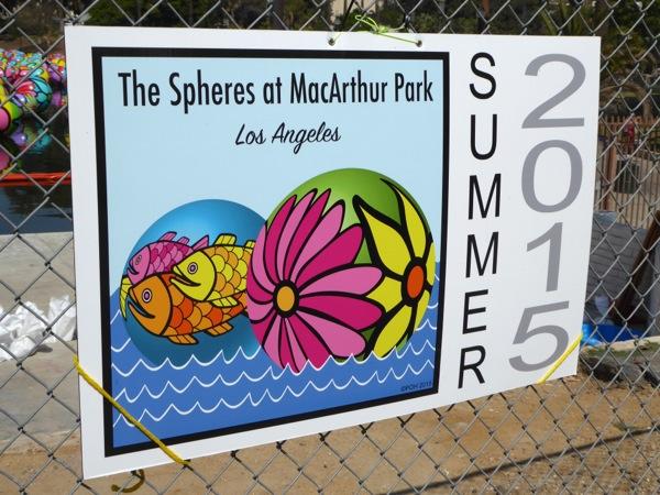 Spheres at MacArthur Park Summer 2015