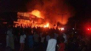 Lagos fire incident