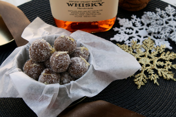 Ginger Bourbon Balls