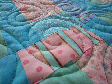 This was the post about the Scrappy Quilt Challenge at Marcia's Crafty Sewing and Quilting