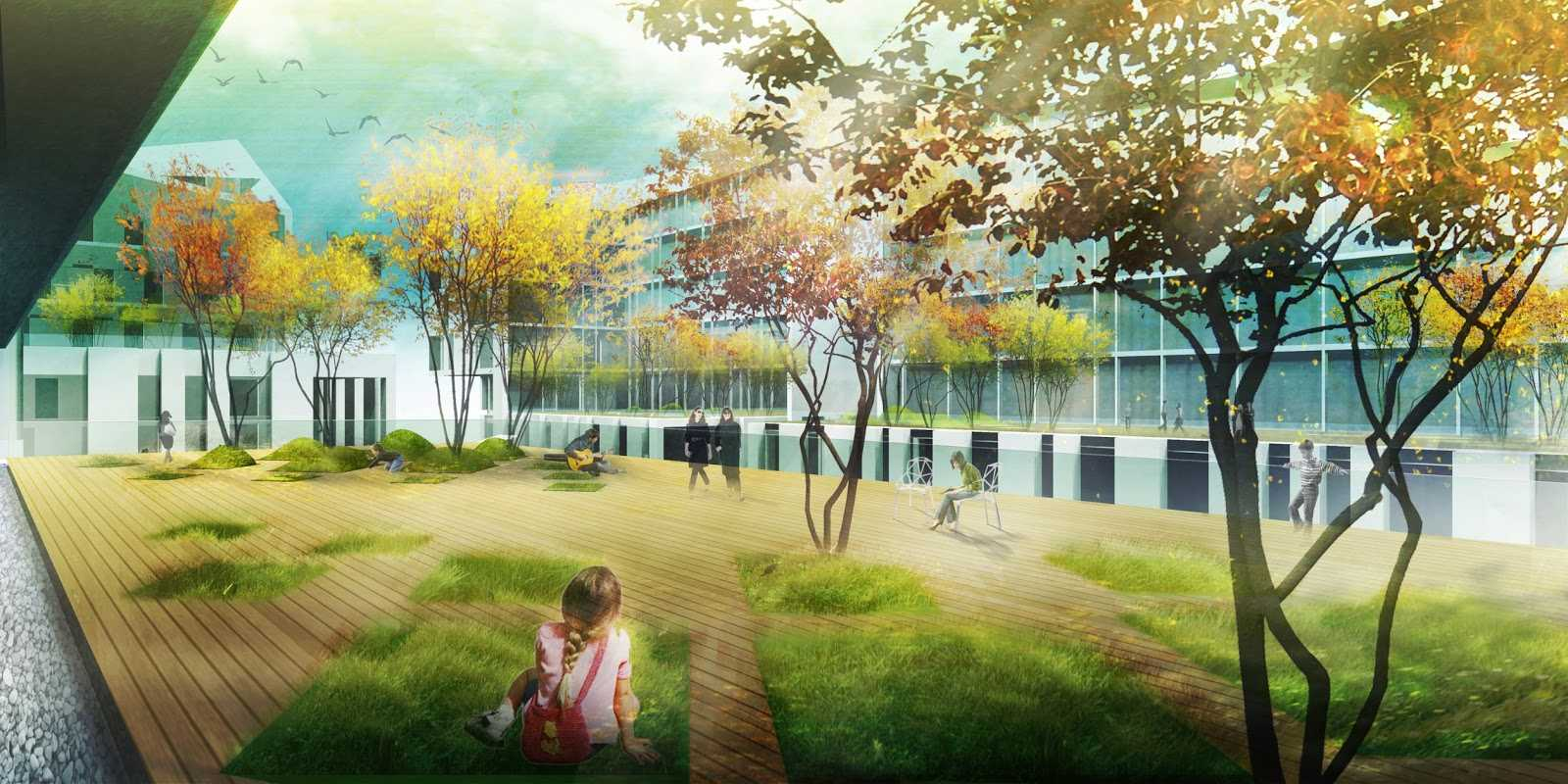 Straume design competition by haptic architects for Landscape design contest