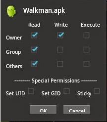 Cara Install Walkman Mod Pada Handphone Android