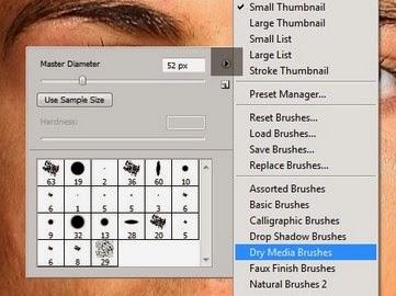 Tutorial Cara Menghaluskan Kulit dengan Mengggunakan Smudge Tool di Photoshop
