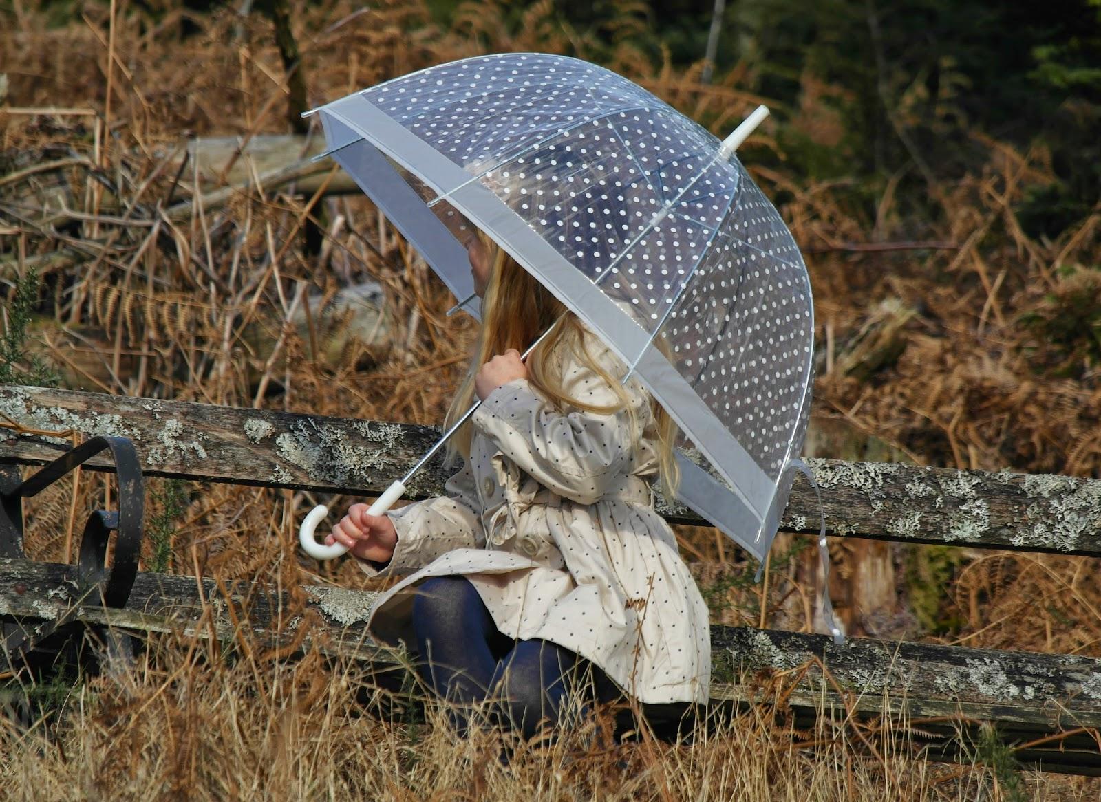 Nutmeg Morrisons Spot print rain mac coat