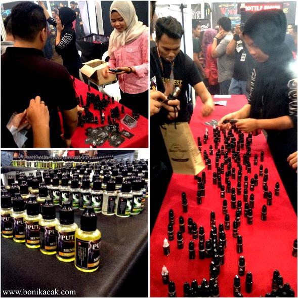 Gambar-Gambar KemeriahanSekitar OMG Vape Fest 2015 18 dan 19 Oktober 2015 Di Shah Alam Convention Center (SACC), #vapeon #vaperion #,