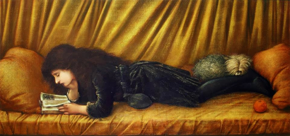 Edward Burne-Jones - Portrait of Katie Lewis, 1886