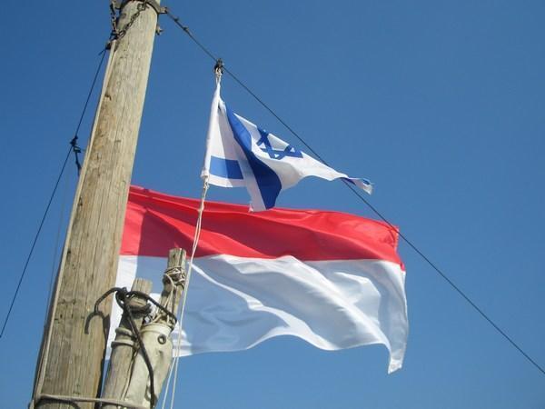 274909-Bendera-Israel-dan-Indonesia--Israeli-and-Indonesian-flags-0+(1 ...