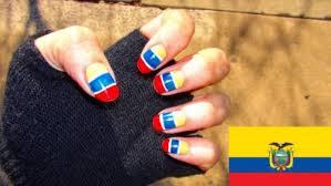 Uñas-Unhas-Nails Copa América Chile 2015
