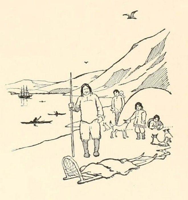 Η τελετή ταφής των Εσκιμώων