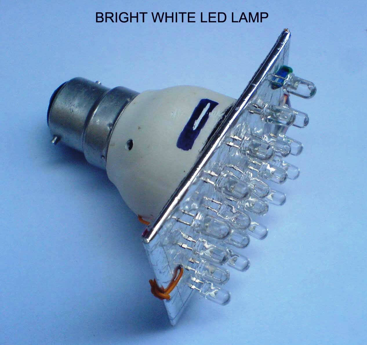 vasu bhat39s electronic hobby projects bright white led lampvasu bhat\\u0027s electronic hobby projects bright white led lampvasu bhat39s electronic hobby projects bright