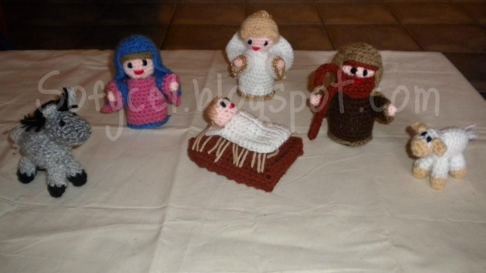 Amigurumi Navidad Nacimiento : Sofycel creaciones nacimiento amigurumi