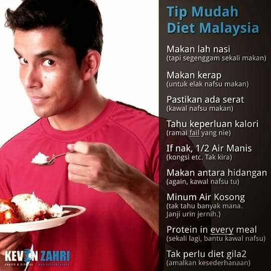 TIPS MUDAH DIET - Kevin Zahri