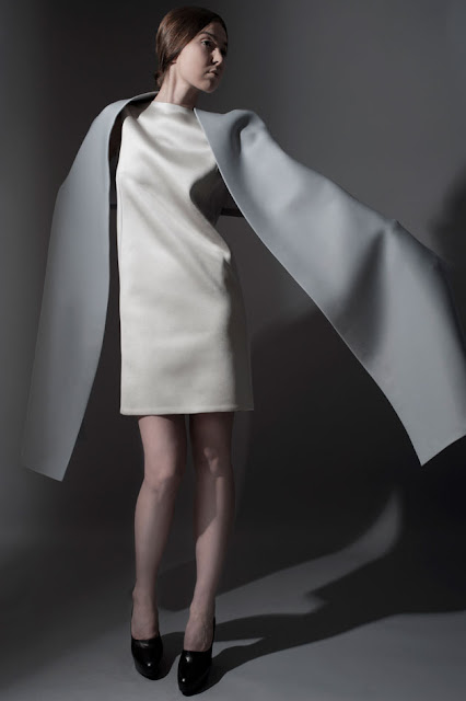 Tze Goh's SS12 collection showcasing minimalism