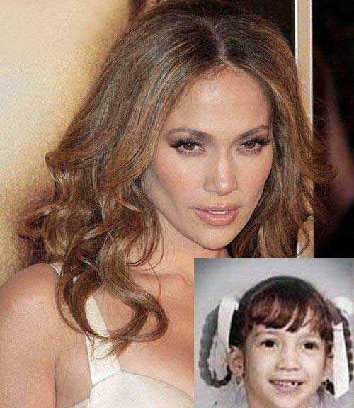 Childhood Pictures of Jennifer Lopez