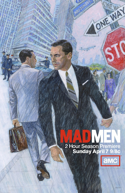 Mad Men Season 6 One Sheet Television Poster