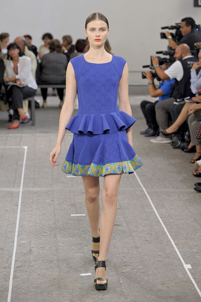 Milan Fashion Week S/S 2013: Vasilisa Pavlova in Angelo Marani show