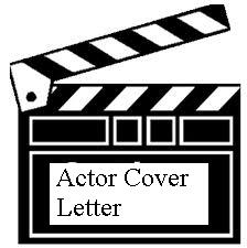 actor cover letters sample actor cover letters