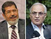 احمد شفيق ومحمد مرسي