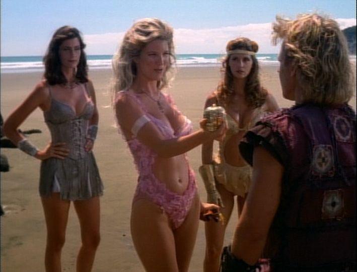 Herkules sorozat – Jelenet az Alma c. reszbol: Aphrodite es Iolaus