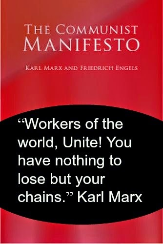 The Basics of Marxism, alienated labour, bourgeoisie, class struggle, commucist manifesto, communism, exploitation, International Relations, Karl Marx, Marxism, marxist, Political Philosophy, proletariat, surplus labour, surplus value,
